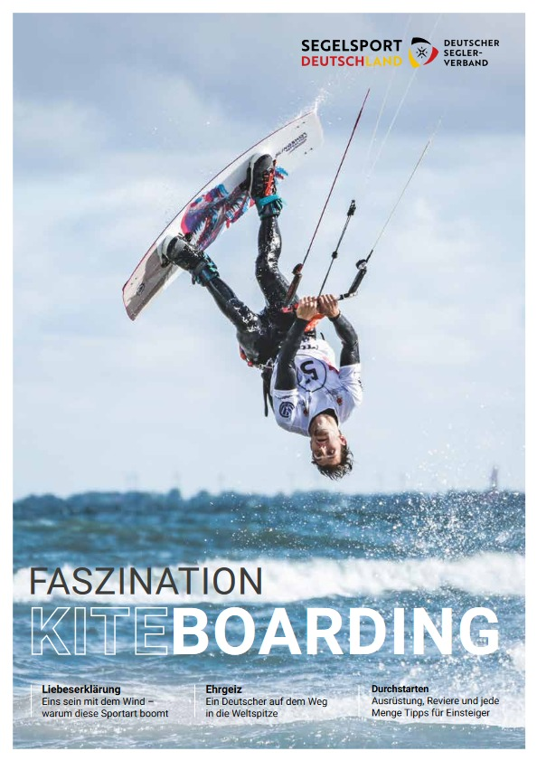 Broschüre Kiteboarding Titel