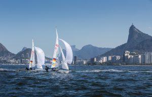 Während des Olympischen Testevents 2015