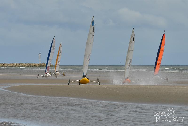 EM der Strandsegler im irischen Laytown. Foto: Carels Photography