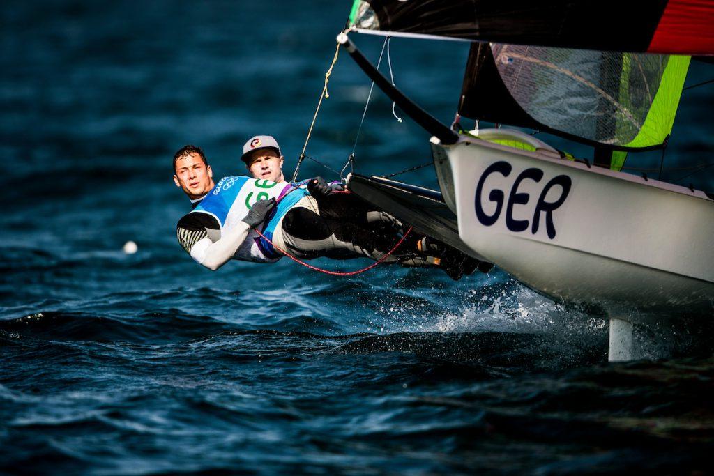 Olympisches Segeln Erik Heil und Thomas Plößel