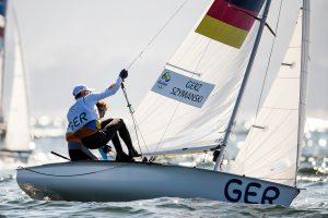 Ferdinand Gerz und Oliver Szymanski haben ganz knapp das Medalrace verpasst. © Sailing Energy / World Sailing