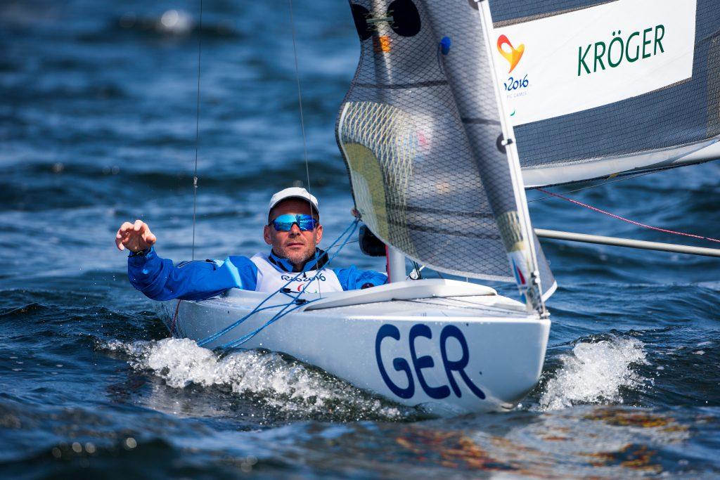 Segeln 2024 Paralympisch Heiko Kröger © Richard Langdon:Ocean Images