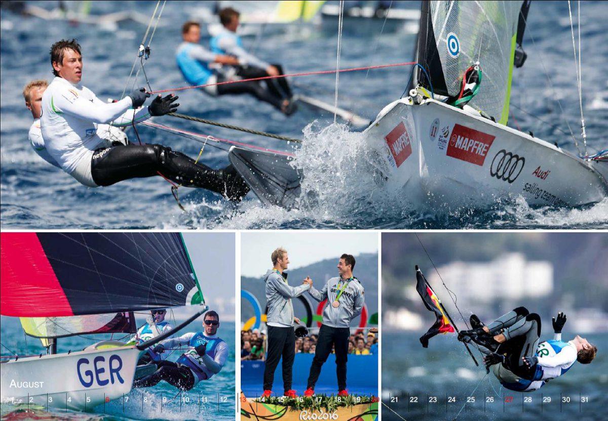 August: Olympische Momente für Erik Heil und Thomas Plößel ©sailingenergy