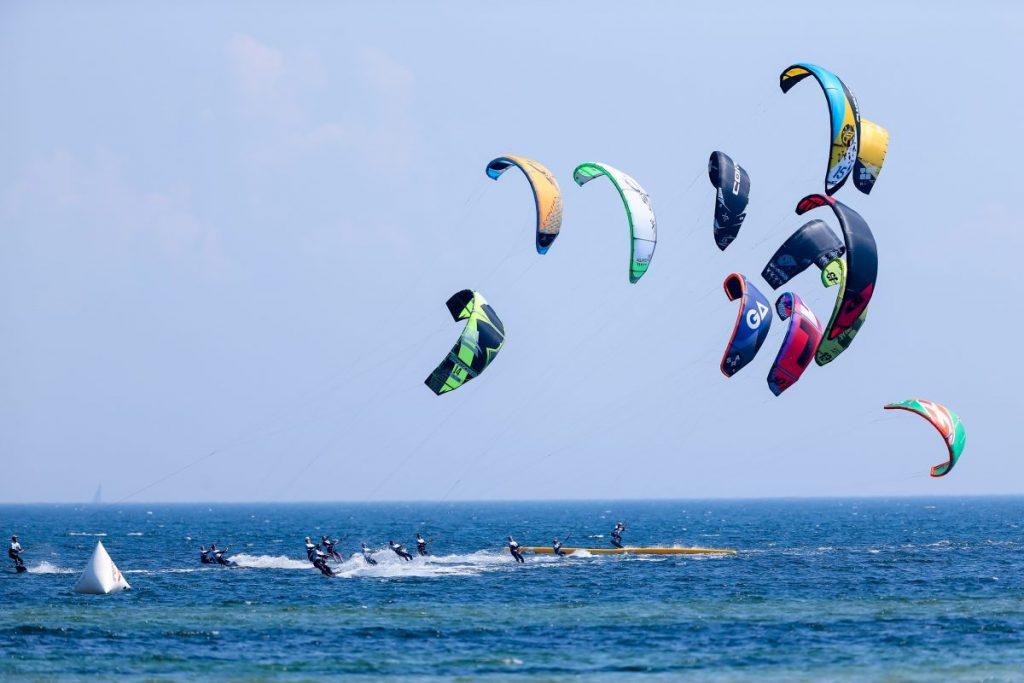 Kiten wird 2024 olympisch. Foto: MediaHouse One