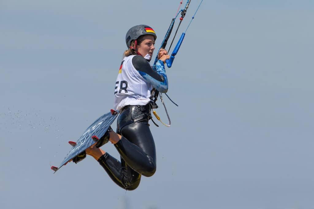Alina Kornelli kann auf ihre Leistung bei den Youth Olympic Games mehr als stolz sein. Foto: World Sailing/ Matias Capizzano