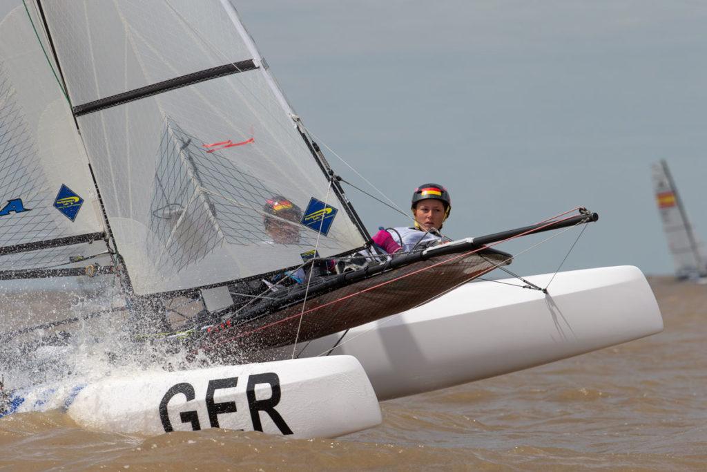 Silas Mühle und Romy Mackenbrock. Foto: World Sailing/Matis Capizzano