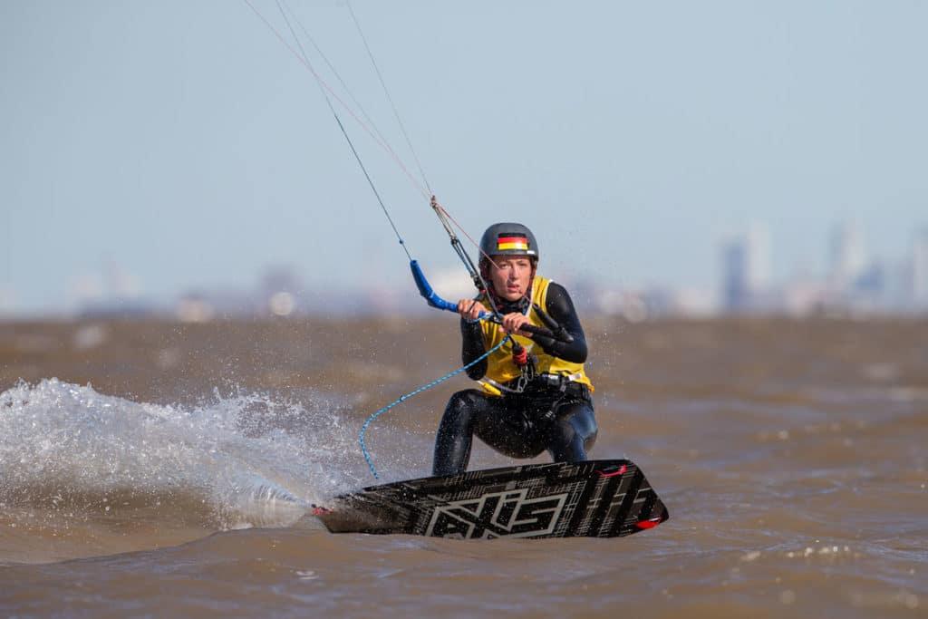 Alina Kornelli. Foto: World Sailing/Matis Capizzano
