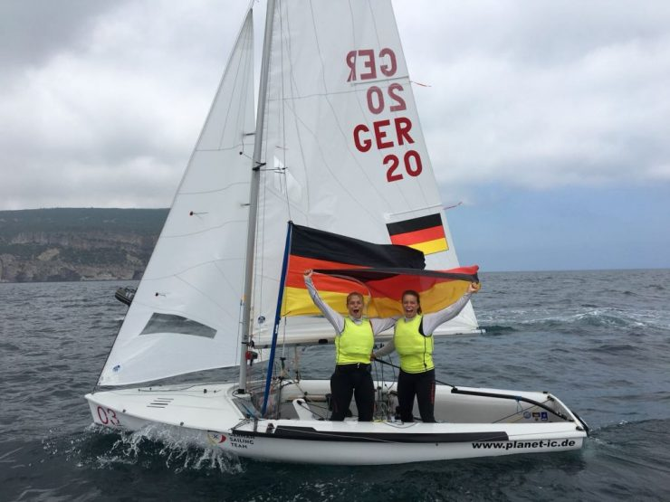 Theres Dahnke/Birte Winkel sind Junioren-Europameisterinnen