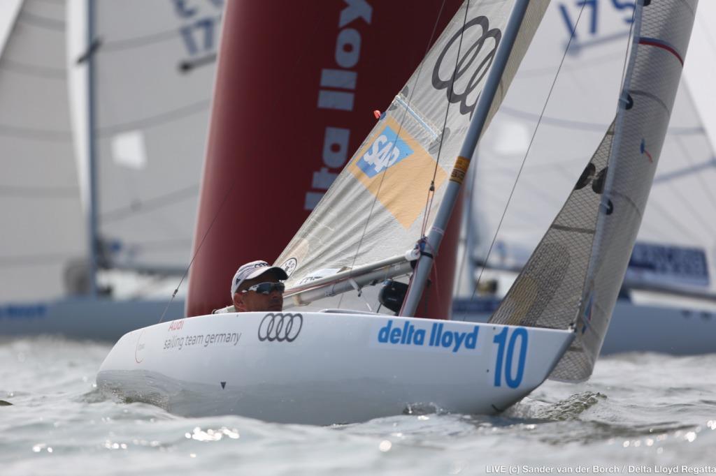 Heiko Kröger hat sich in der paralympischen 2.mR-Klasse zum achten Mal den Weltmeistertitel gesichert und damit insgesamt 9 WM-Titel auf seinem Konto. Foto: Delta Lloyd Regatta