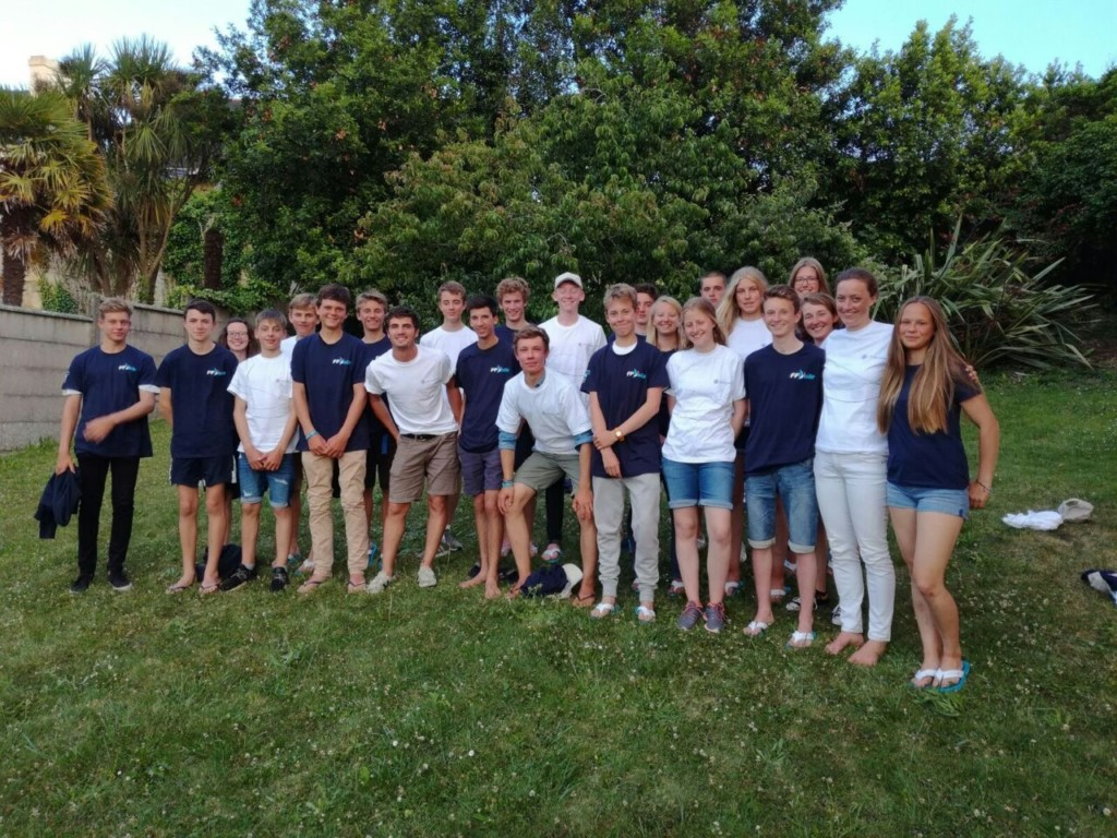 Teilnehmer des DFJB 2017 in Crozon