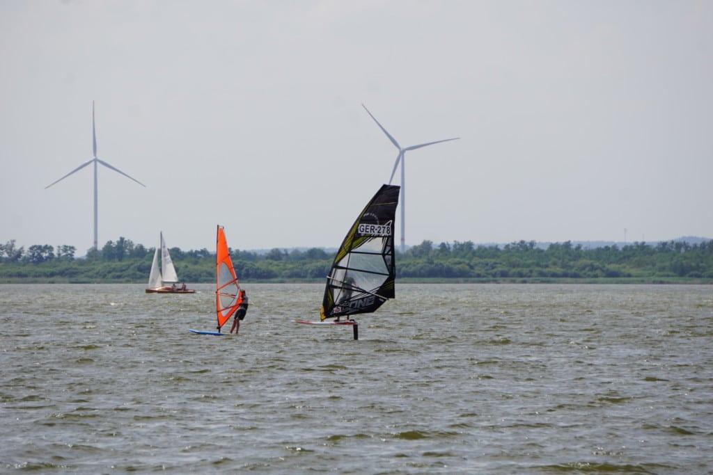 Windsurfen Windfoiling