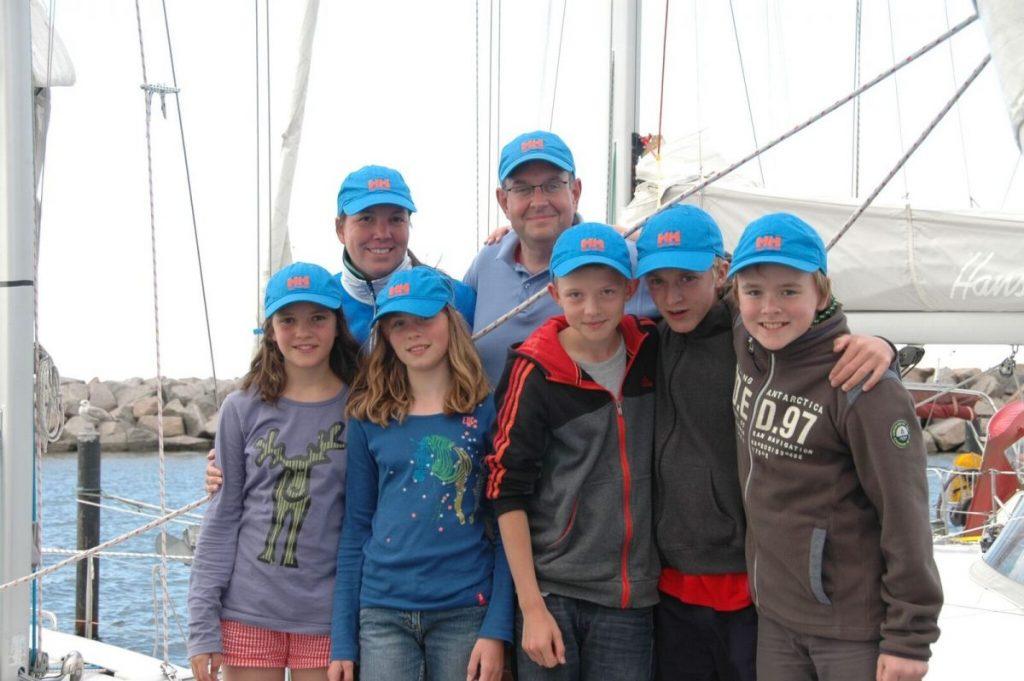 Fackeldey und seine Crew beim Jugendtörn 2013