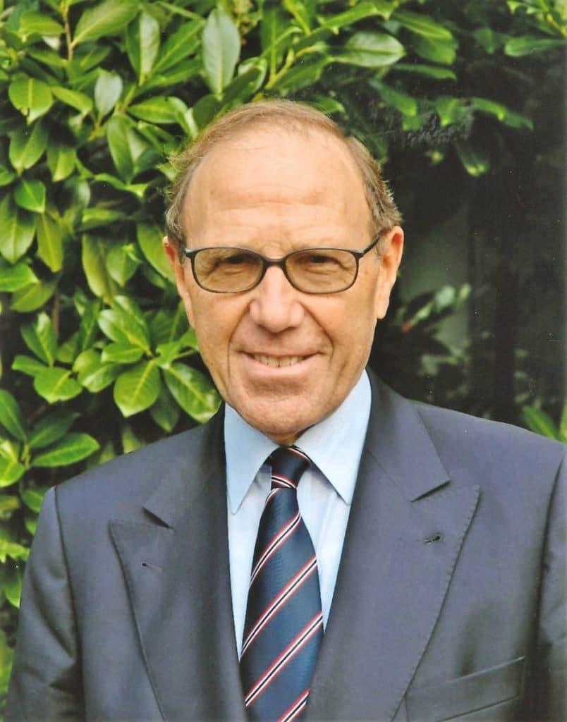 Hans-Joachim Fritze (*18.11.1930, gestorben 22.02.2019), war von 1993 bis 2001 Präsident des DSV. Foto: DSV