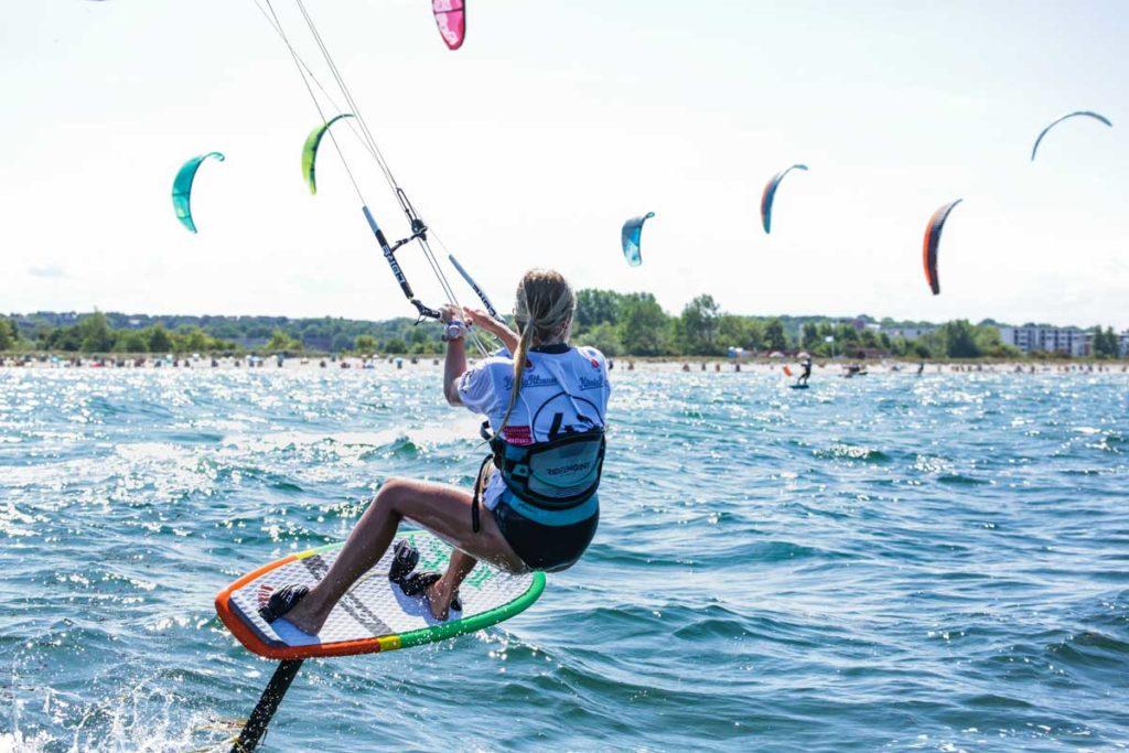 Kiteboarding ist eine rasant wachsende Sportart und wird 2014 erstmals olympisch. Foto: Choppy Water