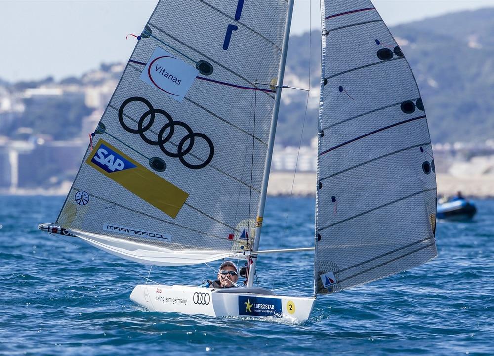 1. Platz im 2.4mR: Heiko Kröger, Norddeutscher Regatta Verein Foto: Jesus Renedo/Sailing Energy/Sofia