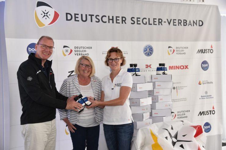 Minox offizieller Ausrüster des Deutschen Segler-Verbands